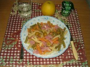 ¡Mi primer plato de pasta!