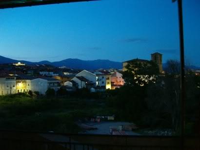 Vista nocturna de Jaraiz
