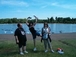 Londres (Lago de los cisnes)